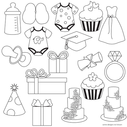 Celebrations Pattern Sheets