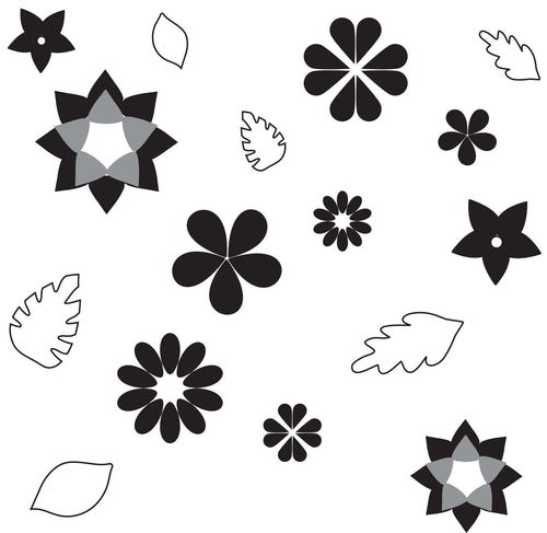 Flowers and Leaves Pattern Sheets