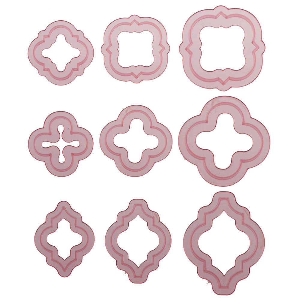 Quatrefoil Element Cutter Set