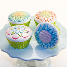 Cupcake and Cookie Texture Tops - Whimsy Floral