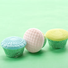 Cupcake and Cookie Texture Tops - Geometric