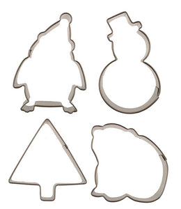 Cutie Cupcake Cutter Set - Winter