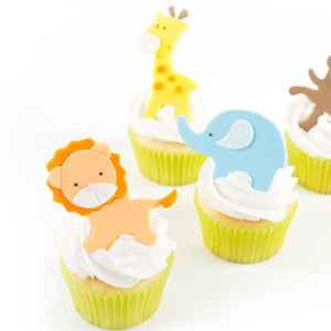 Cutie Cupcake Cutter Set - Jungle