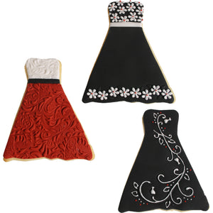 Cookie Cutter Texture Set- Formal Dress