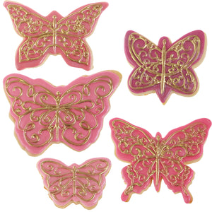 Cookie Cutter Texture Set- Butterflies