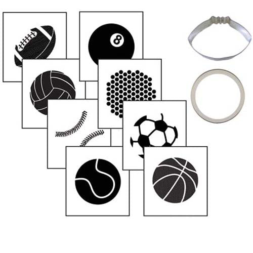 Cookie Cutter Texture Set- Sports Ball Set