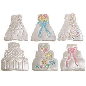 Cookie Cutter Texture Sets- Mini Wedding Set