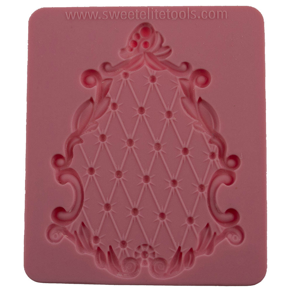 Pouf Plaque Silicone Mold