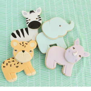 Mix and Match Animal Cookie Cutter Set