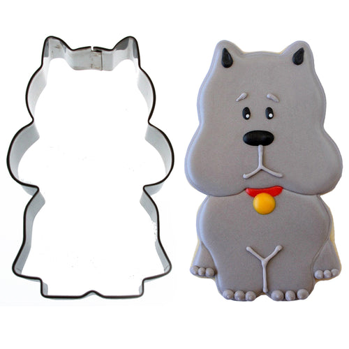 Sitting Scottie Dog Cookie Cutter