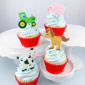 Cutie Cupcake Cutter Set - Farm