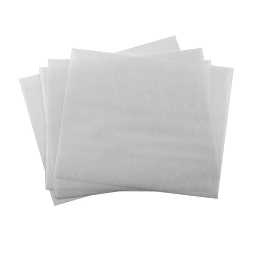 White Wax Paper Wrappers for Caramels