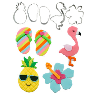 Cutie Cupcake Cutter Set - Tropical