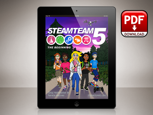 STEAMTEAM 5: The Beginning (ebook)