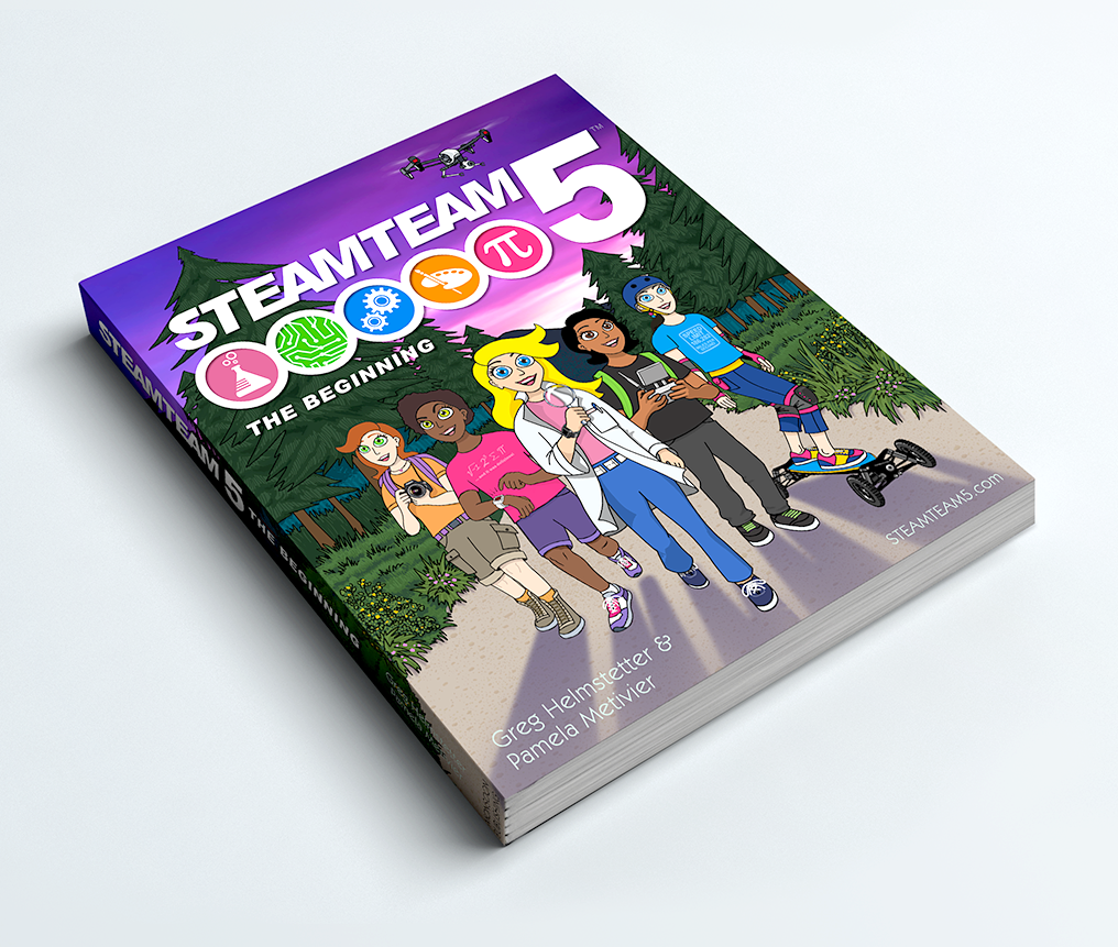 STEAMTEAM 5: The Beginning (Black and White softcover)