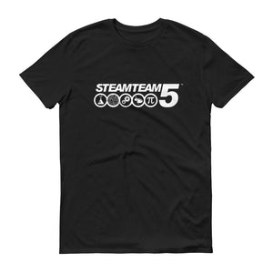 STEAMTEAM 5 Unisex Adult Short-Sleeve T-Shirt (3 colors)