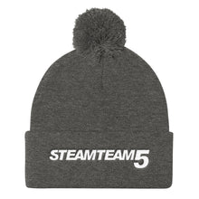STEAMTEAM 5 Pom Pom Knit Cap (9 colors)