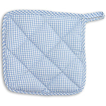 Toy Pot Holder in Red, Blue or Pink Gingham 2002 2002A 2003