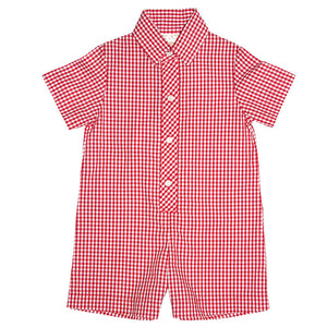 Red Gingham Shortall AYR 3076 SA RD