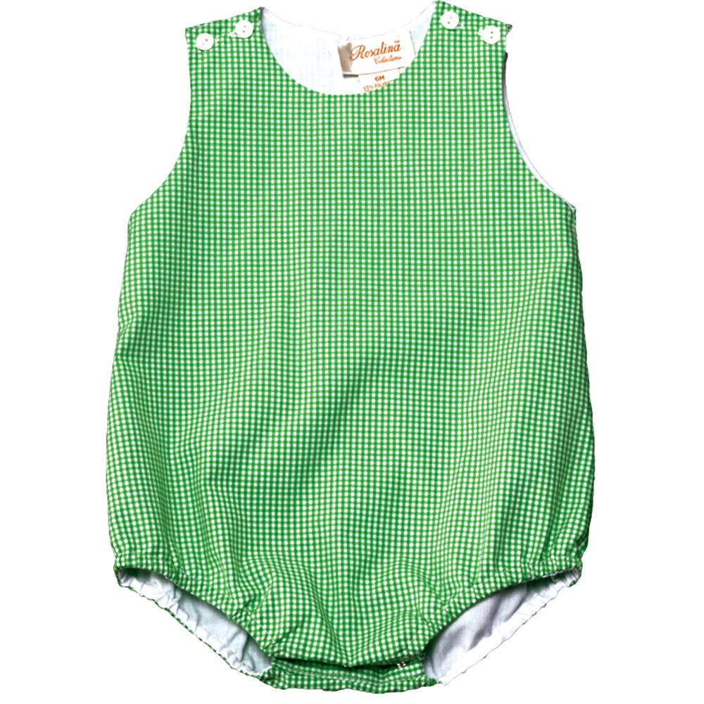 Green Gingham Bubble AYR 3643 A