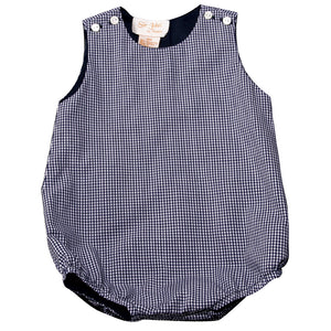 Dark Blue Gingham Bubble AYR 3643 C