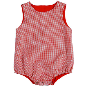 Red Gingham Bubble AYR 3643 E