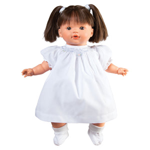 "Megan Brunette & Brown Eyes Naked 15"" Doll 38000BR/BR"