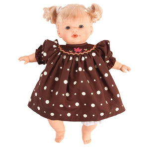 "Lilly Blond & Blue Eyes Naked 15"" Doll 38001 BL/BL"