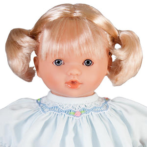 "Carly Blue Eye 10"" Naked Doll 42001 BL/BL"