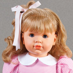"Morgan Blue Eye Blond 18"" Naked Doll 45000 BL/BL"