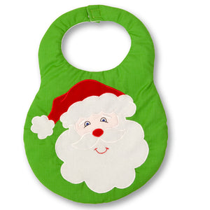Apple Green Santa Bib 13H 4510 BB
