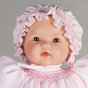 "Claire Brown Eye Bald 18"" Naked Baby Doll 46000 BR"