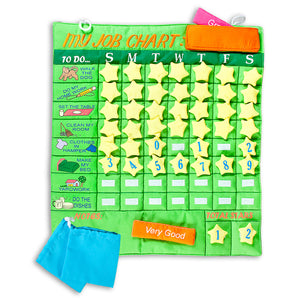 Green Job Chart Wall Hanging 5149