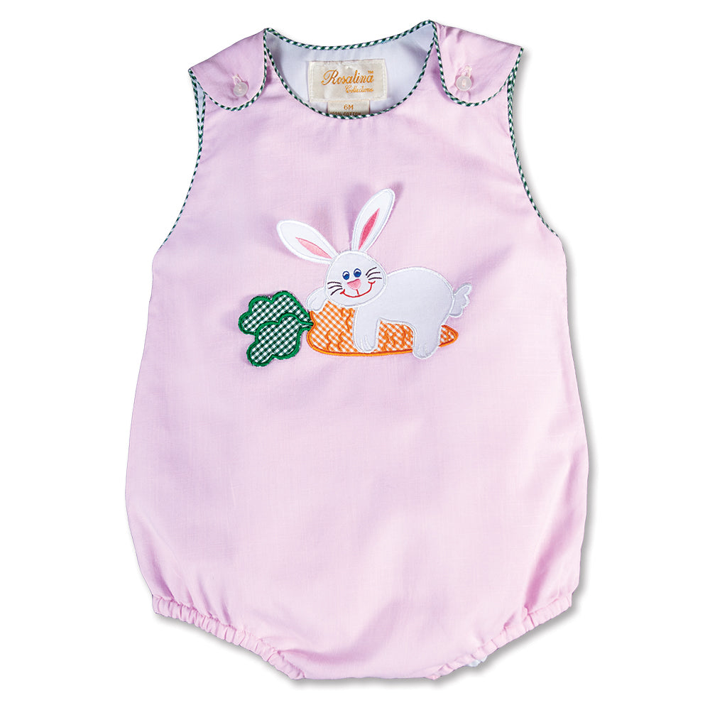 Bunny Love Pink Girl Bubble 100% Cotton 16SP 5719 BUG