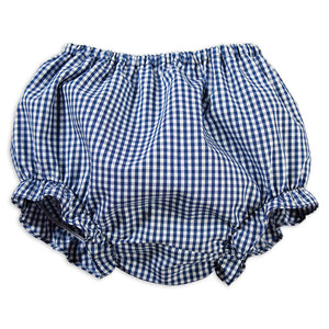 Royal Blue Gingham Girl Diaper Cover 16SP 5780 DCG RBL