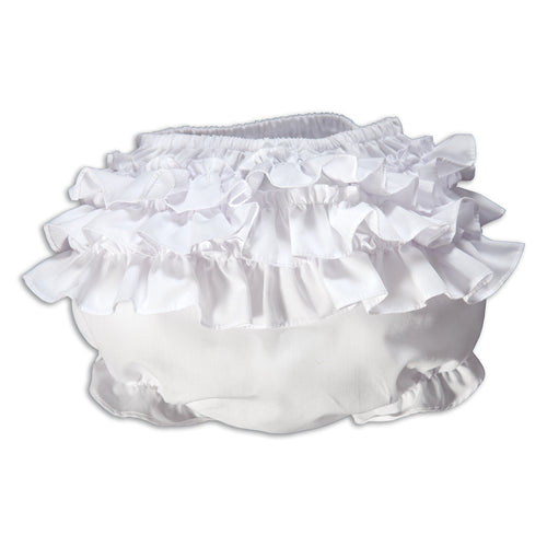 White Ruffled Diaper Cover AYR 16SP 5787WH