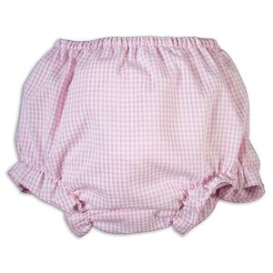 Pink Gingham Diaper Cover 17SP 5947 DCG