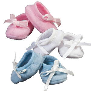 Soft Doll Shoes w/Ribbon 5967