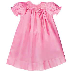 Tiffany Medium Pink English Smocked Bishop 18SP 6118 A