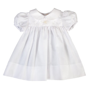 Bianca Rose Bullion White Baby Dress 18SP 6239 D