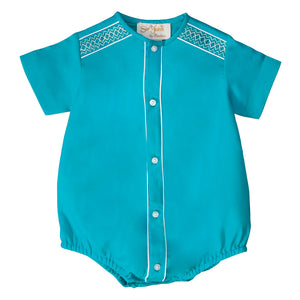 Jade English Smocked Boy Bubble 19SP 6505 BUB