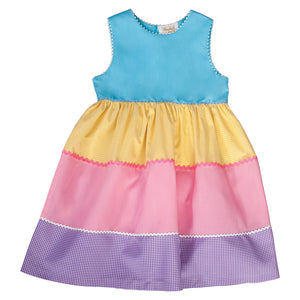 Multi-Colored RicRac Sundress 19SU 6568 SD