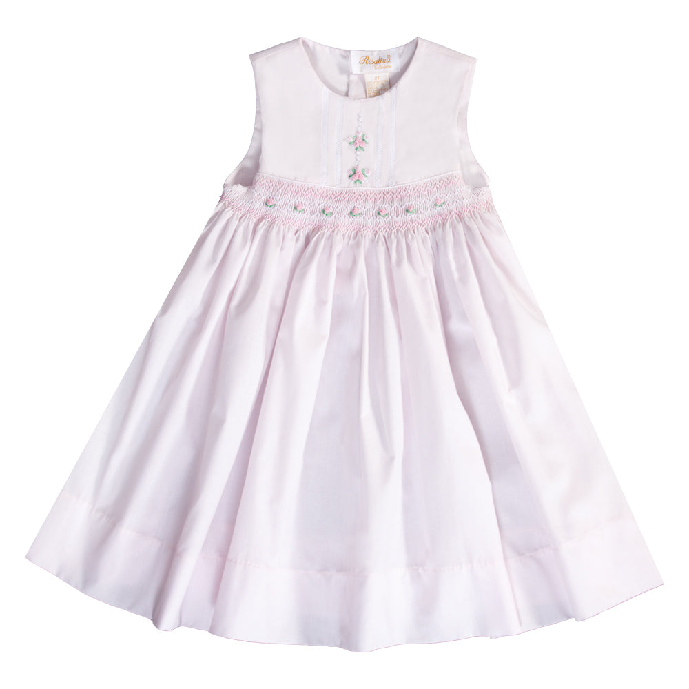 Pink Callado English Smocked Sundress 20SU 6701 SD PK