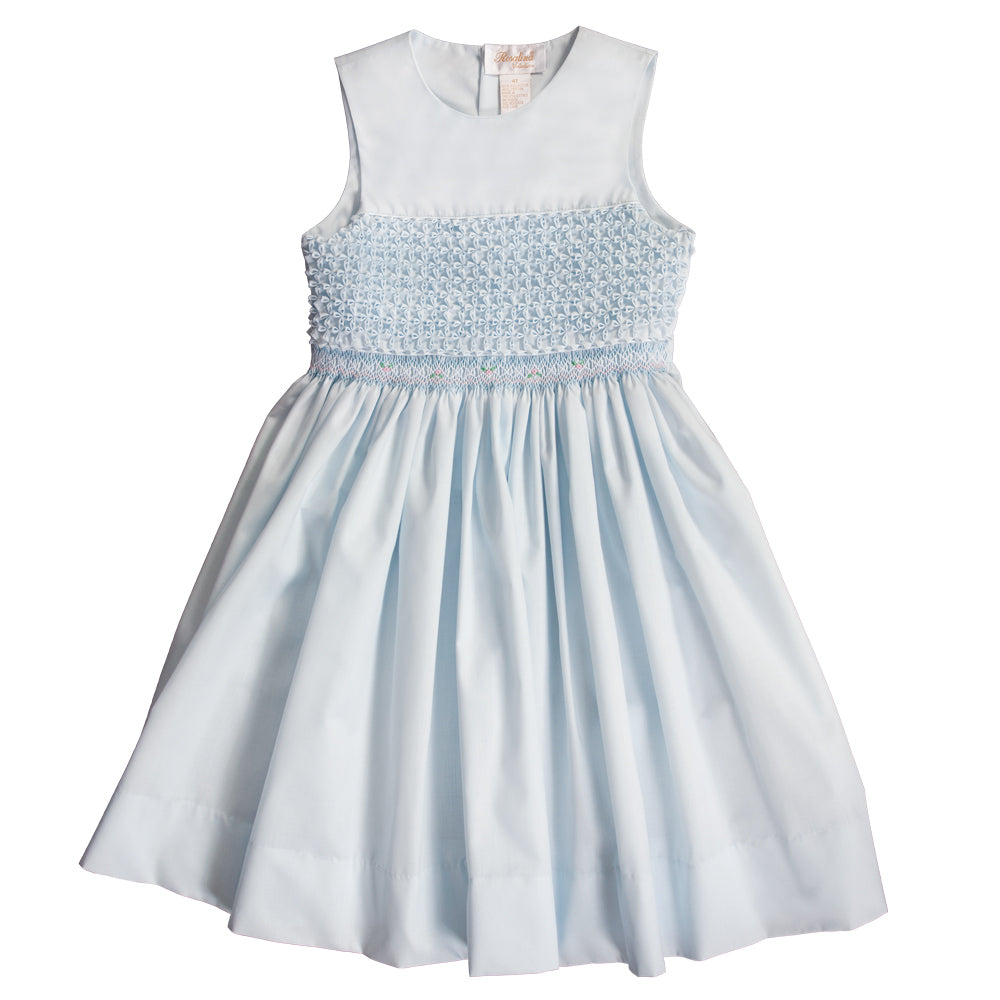 Blue Popcorn English Smocked Sundress 20SU 6702 SD