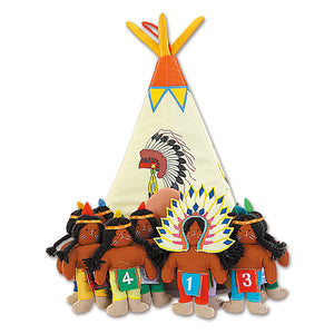Ten Little Indians Headdress Teepee Playhouse 7107