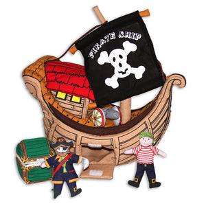 Pirate Ship Playhouse 7241