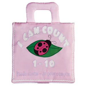I Can Count Pink Trilingual Playbook 7521 PK
