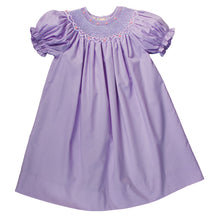 Purple Roselle Smocked Bishop AYR 917 PU