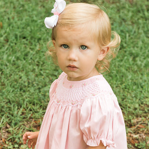 Pink Roselle Smocked Bishop AYR 917 P