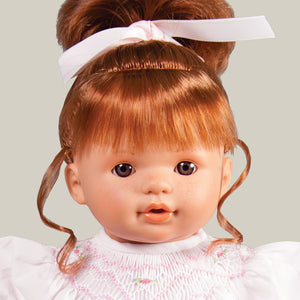 "Charlotte Brown Eye 15"" Naked Doll 38002 RD/BR"